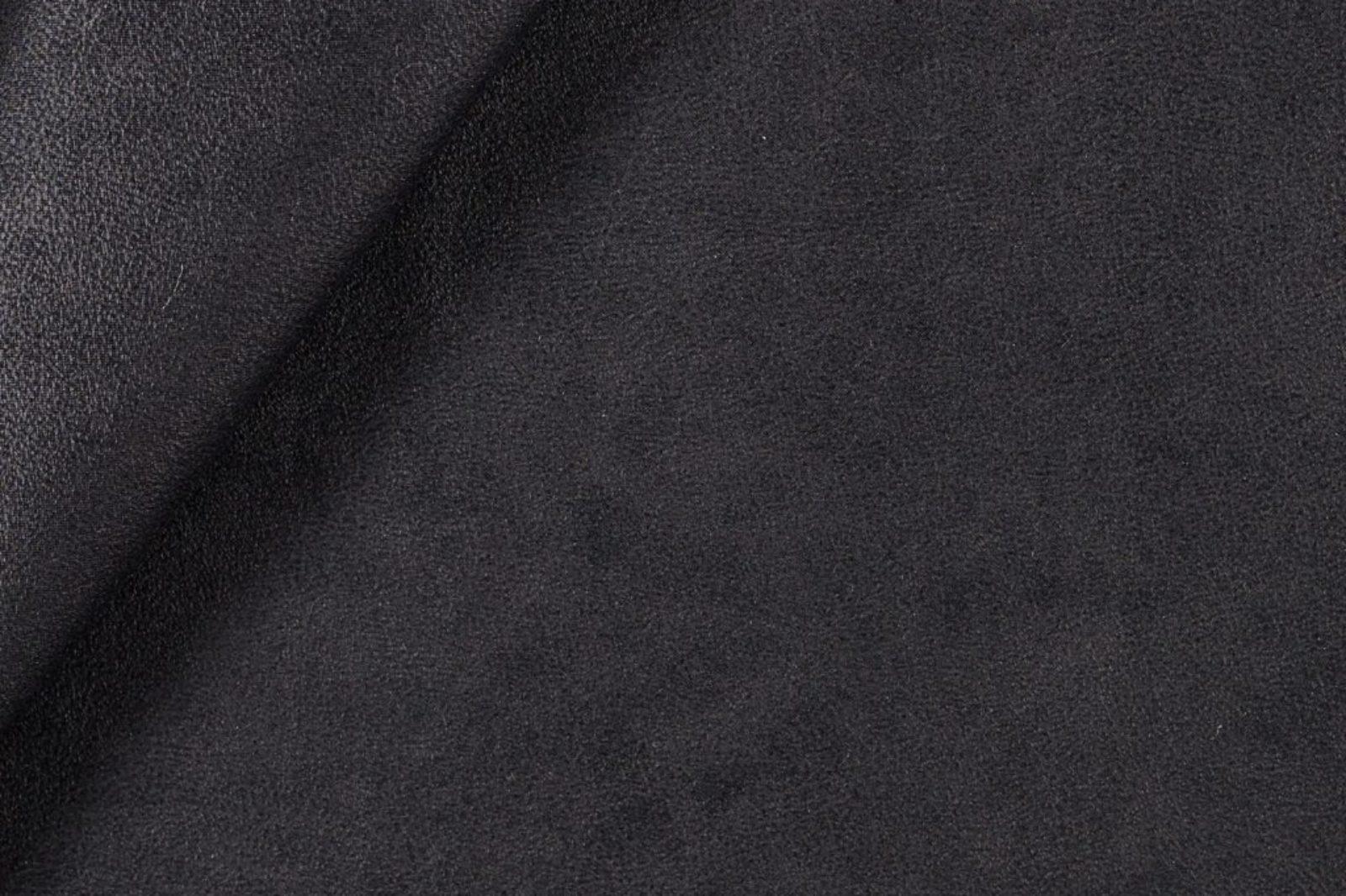 Lederimitat schwarz