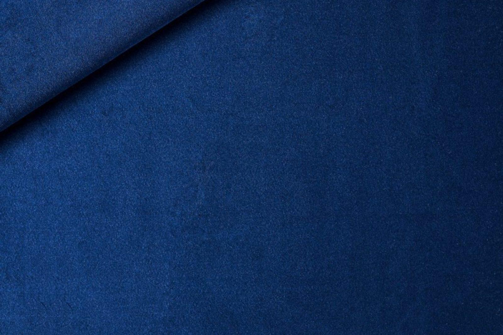 Samt dunkelblau